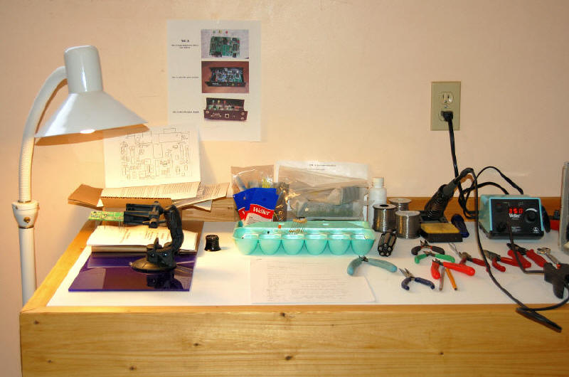VE7GDH's Work Bench